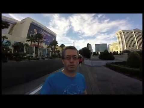 Irishman In Vegas: Dad Films Vacation in Selfie Mode by Mistake