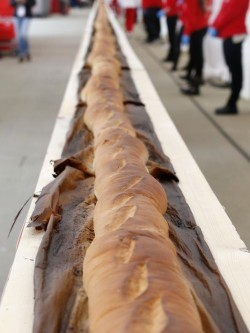 Guinness declares longest baguette in the world!