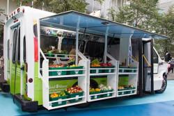Converted Bus Brings Fresh Veggies to Low-Income Neighborhoods