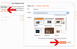 How to Create a Blogger Account: Get Started!