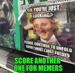Using memes to correct annoying people