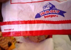 In-N-Out Burgers and Bible Verses