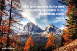 Psalm 121 | Help Cometh from the Lord