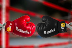 Baptist vs Methodist Christian Denominations