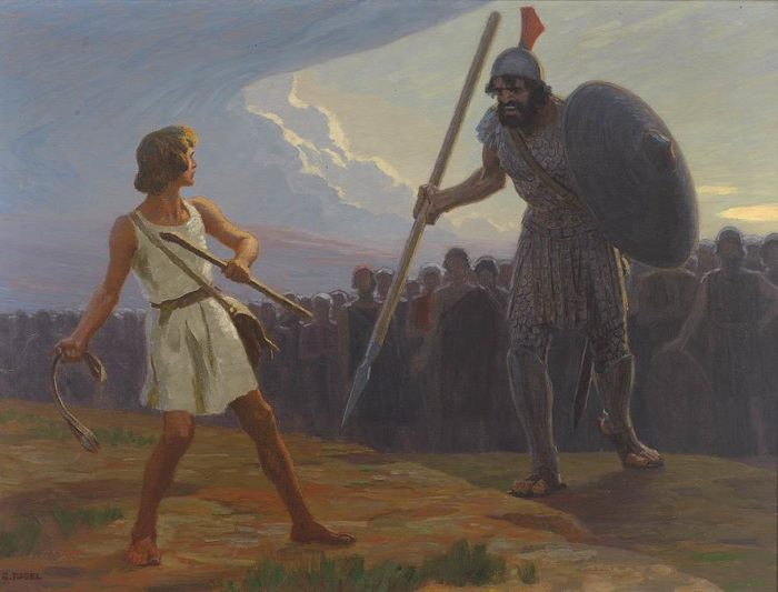 David and Goliath Bible Story