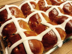 Hot Cross Buns Recipe from a Monastery Kitchen