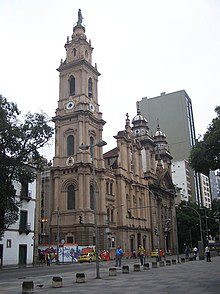Old Cathedral of Rio de Janeiro