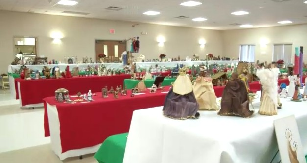 Pastor displays collection of 600 nativity sets