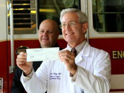 Shreveport Fire honors pastor firefighter with donation