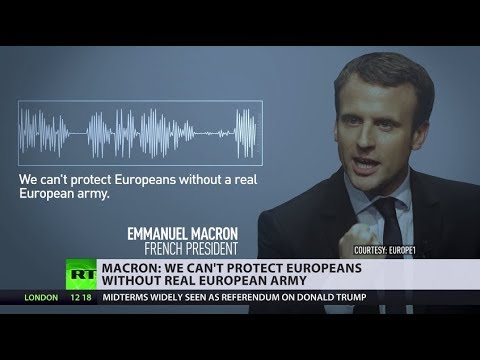 Macron Wants European Army: Sign of the Times?