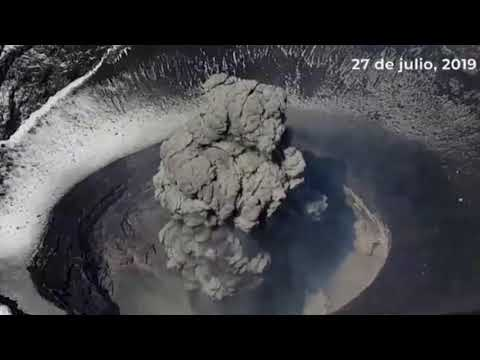 Popocatépetl Volcano in Mexico blasts huge ash cloud