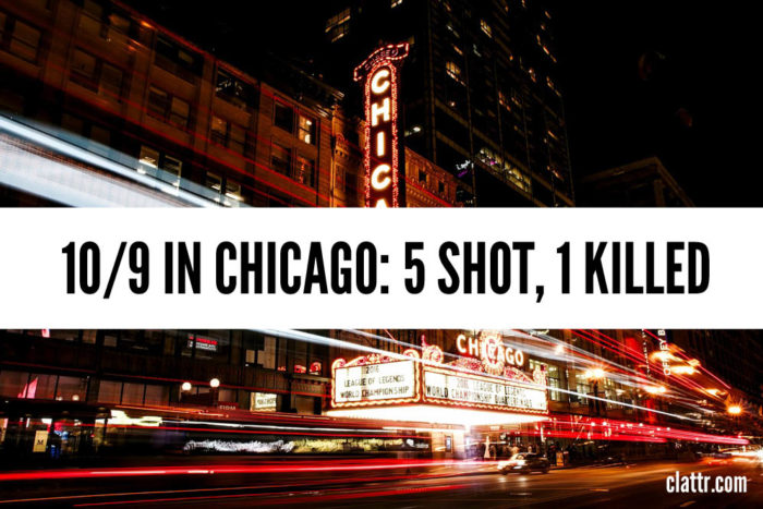 Wednesday Night in Chicago: 5 Shot, 1 Killed