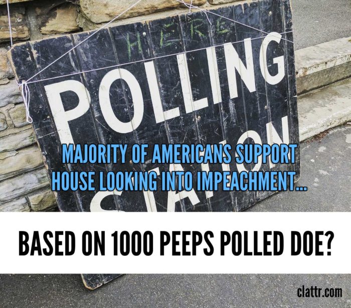 Majority of Americans Support Impeachment Based on 1007 People