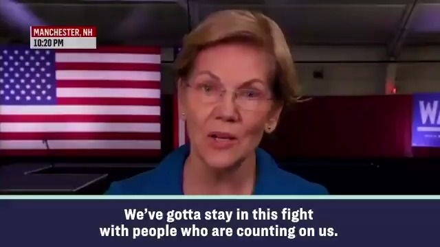 Elizabeth Warren on College Student That Gave Her 3 Bucks