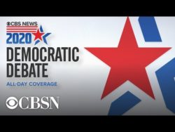 CBS News Democratic Debate Live Stream
