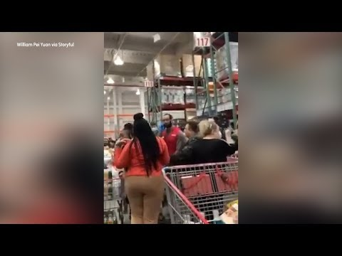 Brooklyn Costco coronavirus meltdown