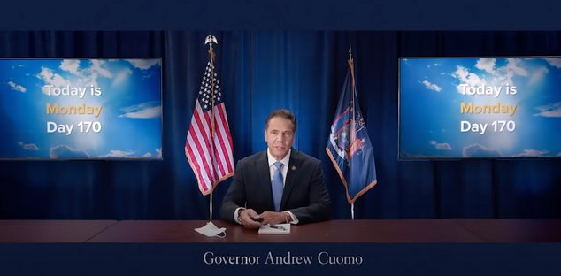 Cuomo is humbly writing a book about his leadership during the pandemic
