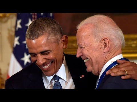 Did Joe Biden rehash Barack Obama speeches for National Convention?