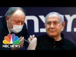 Israeli Prime Minister Benjamin Netanyahu Receives Pfizer Vaccine