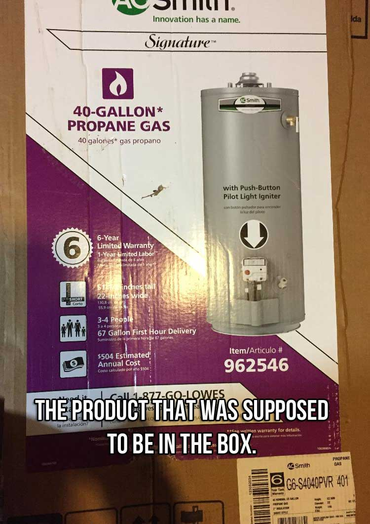 A.O. Smith, Lowes and the Water Heater Debacle