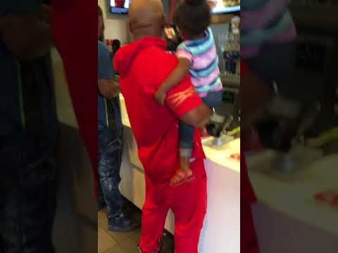 Another Day at a Ghetto McDonald's