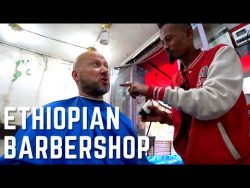 Visiting Ethiopia's Backstreet Barbershop