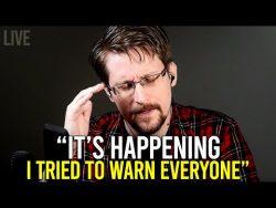 Edward Snowden: 'Why did I do something?'