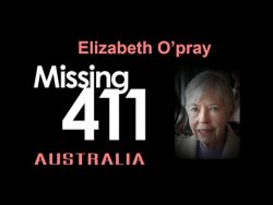 Elizabeth O'Pray went hiking in Australia; no trace has ever been found