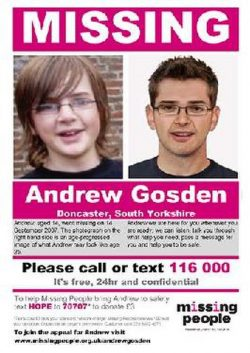 Andrew Gosden went missing at a train station and was never seen again