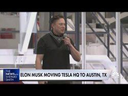 Elon Musk Moves Tesla HQ to Texas