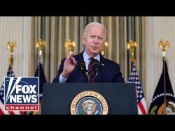 President Biden talks about supply chain problems